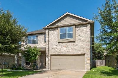 Cedar Park Single Family Home For Sale: 207 Saddle Ridge Dr