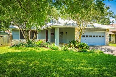Austin Single Family Home For Sale: 2617 Monarch Dr