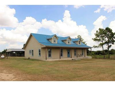 Lockhart Single Family Home For Sale: 1516 Old Luling Rd