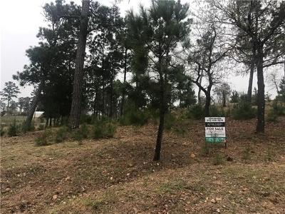 Bastrop County Residential Lots & Land For Sale: Lot 615 Mahalo Ct