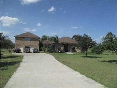 Kinney County, Uvalde County, Medina County, Bexar County, Zavala County, Frio County, Atascosa County, Live Oak County, Bee County, San Patricio County, Nueces County, Jim Wells County, Dimmit County, Duval County, Hidalgo County, Cameron County, Willacy County Single Family Home For Sale: 6805 E Canton Rd