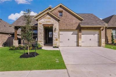Leander Single Family Home For Sale: 520 Peregrine Way