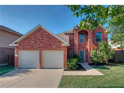 Leander Single Family Home For Sale: 1825 W Baranco Way