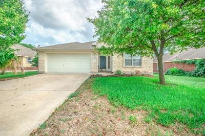 Round Rock Single Family Home For Sale: 102 Chandler Crossing Trl