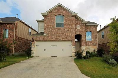 Round Rock Single Family Home For Sale: 3451 Mayfield Ranch Blvd #265