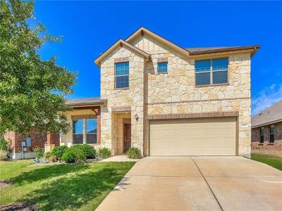Round Rock TX Single Family Home For Sale: $297,500