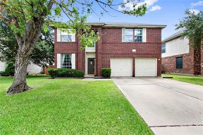 Round Rock Single Family Home Pending - Taking Backups: 1509 White Oak Loop
