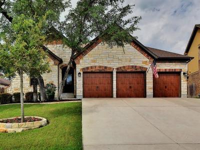 Cedar Park Single Family Home For Sale: 1703 Ambling Trl