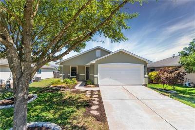 Leander Single Family Home For Sale: 312 Golden Gate Dr