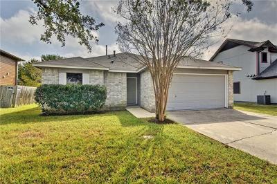 Kyle Single Family Home Pending - Taking Backups: 110 Elmer Cv