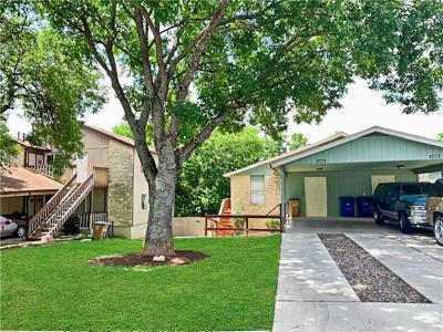 Austin Multi Family Home For Sale: 5405 Spring Meadow Rd