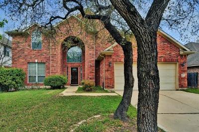 Cedar Park Single Family Home Pending - Taking Backups: 403 S Lynnwood Trl