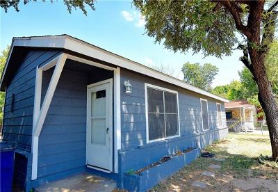 Travis County Single Family Home For Sale: 4602 Munson St