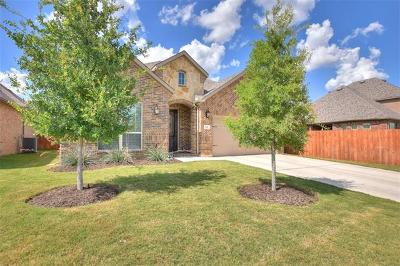 Leander Single Family Home For Sale: 541 Mistflower Springs Dr