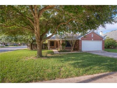 Pflugerville Single Family Home Pending - Taking Backups: 1309 Marigold Way