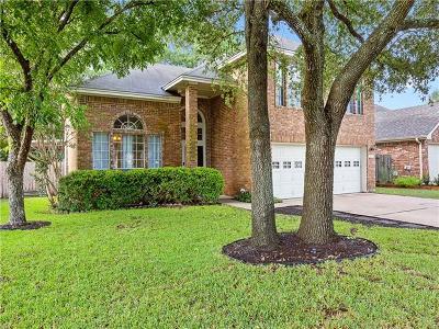 Cedar Park Single Family Home For Sale: 1213 Meadow Lark Dr