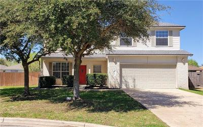 Leander Single Family Home For Sale: 503 Hyde Cv
