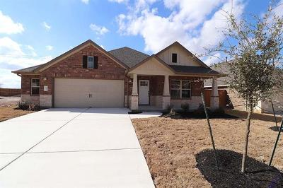Round Rock Single Family Home For Sale: 2933 Diego Dr