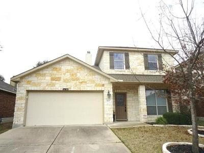 Cedar Park Rental For Rent: 4007 Wilderness Path Bnd