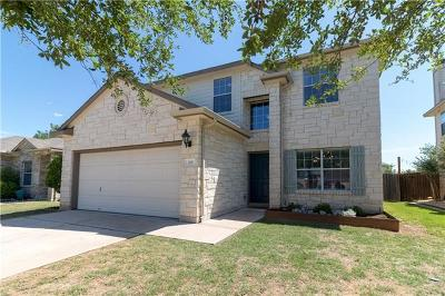 Leander Single Family Home For Sale: 215 Housefinch Loop