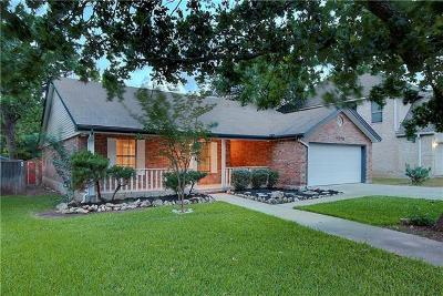 Round Rock Single Family Home For Sale: 1215 Robin Trl