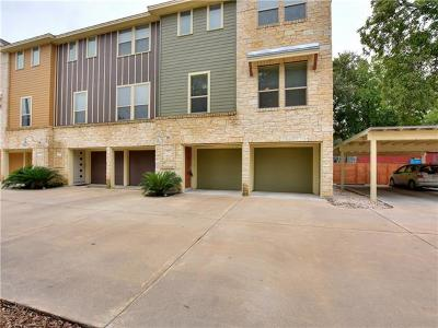 Austin Condo/Townhouse For Sale: 604 Allen St #103