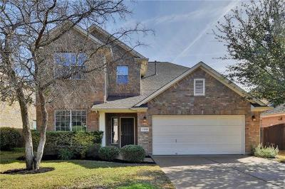 Round Rock Single Family Home For Sale: 2616 Salorn Way