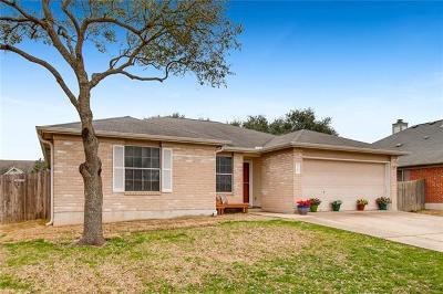 Cedar Park Single Family Home Pending - Taking Backups: 2202 Darnell Dr