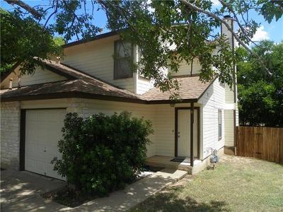 Austin Rental For Rent: 14205 Sussman Ct #B