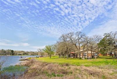 Bastrop County Single Family Home Pending - Taking Backups: 155 Moccasin Bend Dr