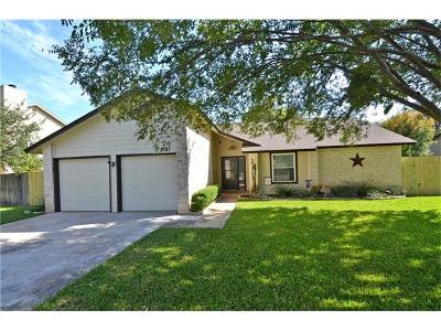 Round Rock Single Family Home For Sale: 2407 W Messick Loop