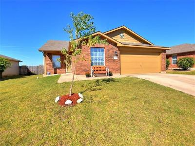 Hutto Single Family Home For Sale: 601 Saul St