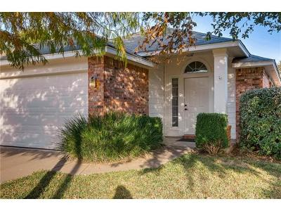 Hays County, Travis County, Williamson County Single Family Home Pending - Taking Backups: 11507 Paul E Anderson Dr