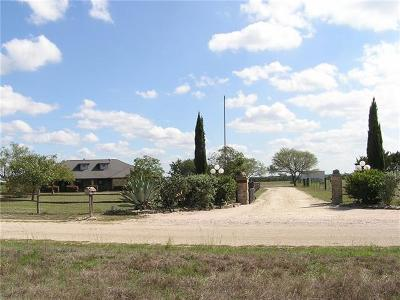 Burnet County Single Family Home For Sale: 515 County Road 204