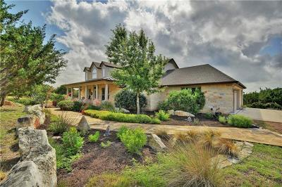 Marble Falls Single Family Home For Sale: 25013 Montana Creek Xing
