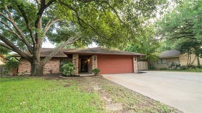 Austin Single Family Home Pending - Taking Backups: 405 Battle Bend Blvd