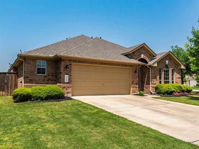 Round Rock Single Family Home Pending - Taking Backups: 3401 Saint Christopher Ct