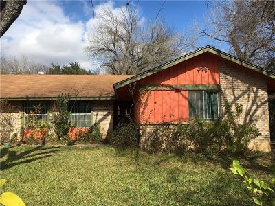 Austin Single Family Home Pending - Taking Backups: 2202 Deadwood Dr