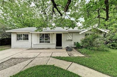 Austin Single Family Home For Sale: 6101 Derby Cv