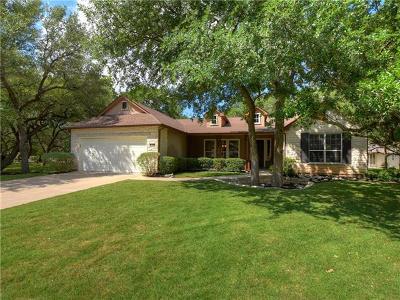 Georgetown Single Family Home Pending - Taking Backups: 108 Ranch House Cv