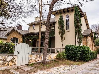 Travis County Single Family Home For Sale: 2407A Enfield Rd