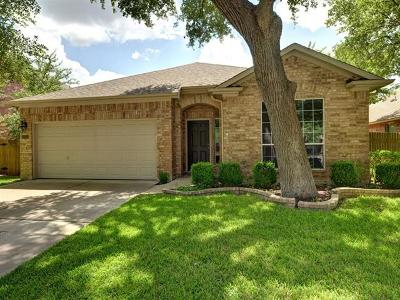 Round Rock Single Family Home For Sale: 3212 Pine Needle Cv