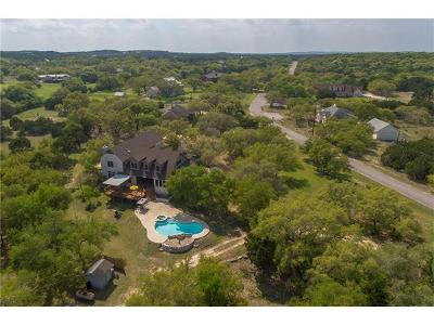 Dripping Springs Single Family Home For Sale: 605 Oakwood Ln