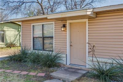 Austin Single Family Home For Sale: 7807 Gault St