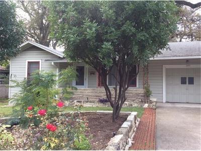 Austin Single Family Home For Sale: 2011 Rabb Glen St