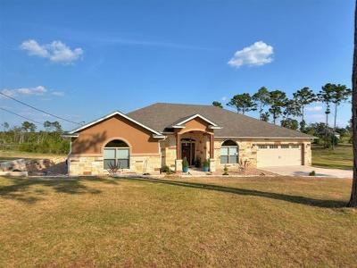 Bastrop County Single Family Home Pending - Taking Backups: 107 E Tanglebriar Ct