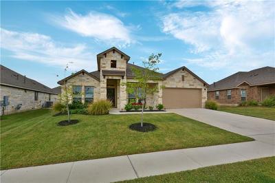 Leander Single Family Home Pending - Taking Backups: 424 Bingham Pt