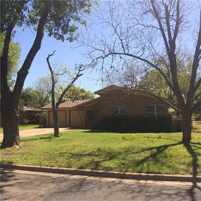Austin Single Family Home For Sale: 4605 Lasso Path