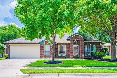Pflugerville Single Family Home For Sale: 1008 Pecan Creek Dr