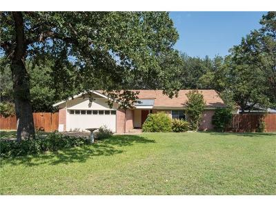 Travis County, Williamson County Single Family Home For Sale: 1608 Plateau Rdg